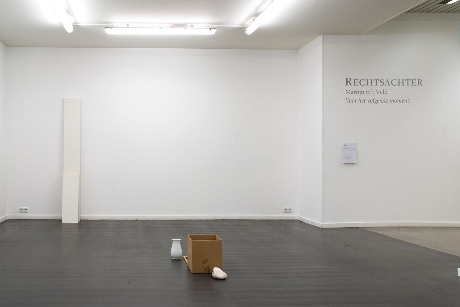Voor het volgende moment - Exhibition overview