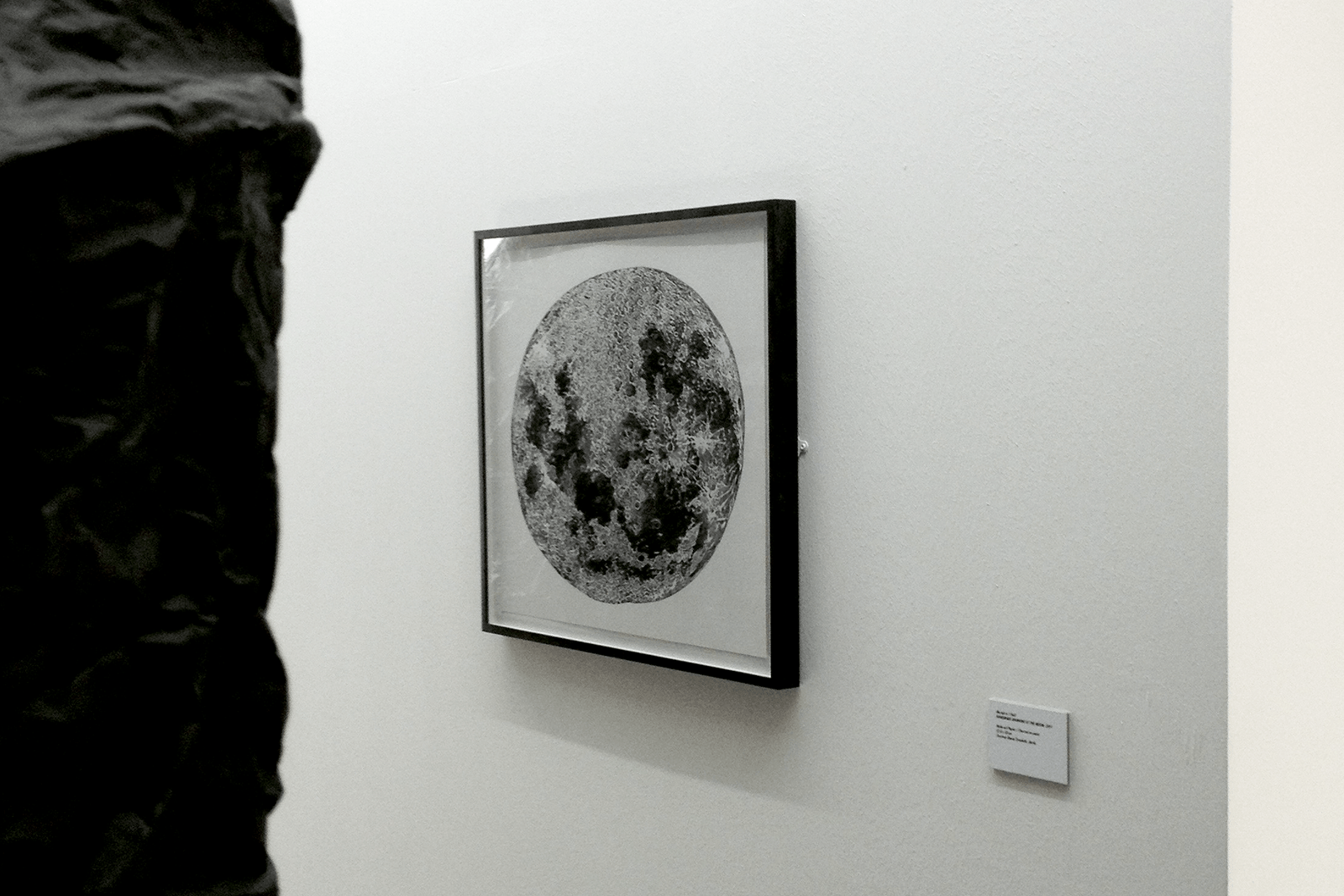 Handmade Drawing of the Moon