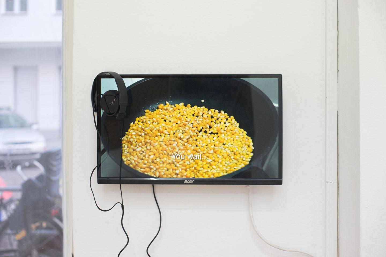 Popcorn, video, 2.36min, 2016