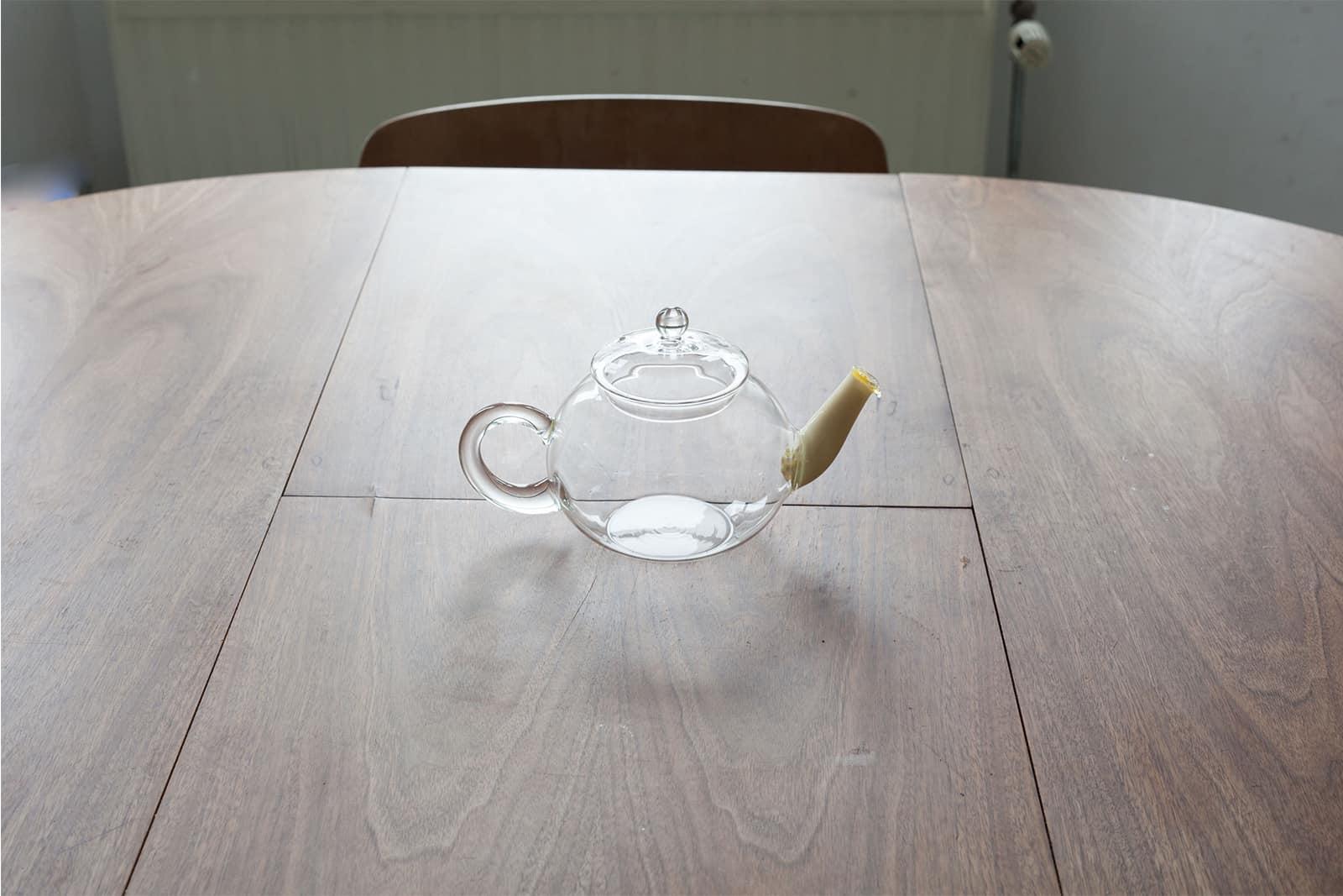 Nose by Mikko Kuorinki - Mayonnaise, teapot, 2015
