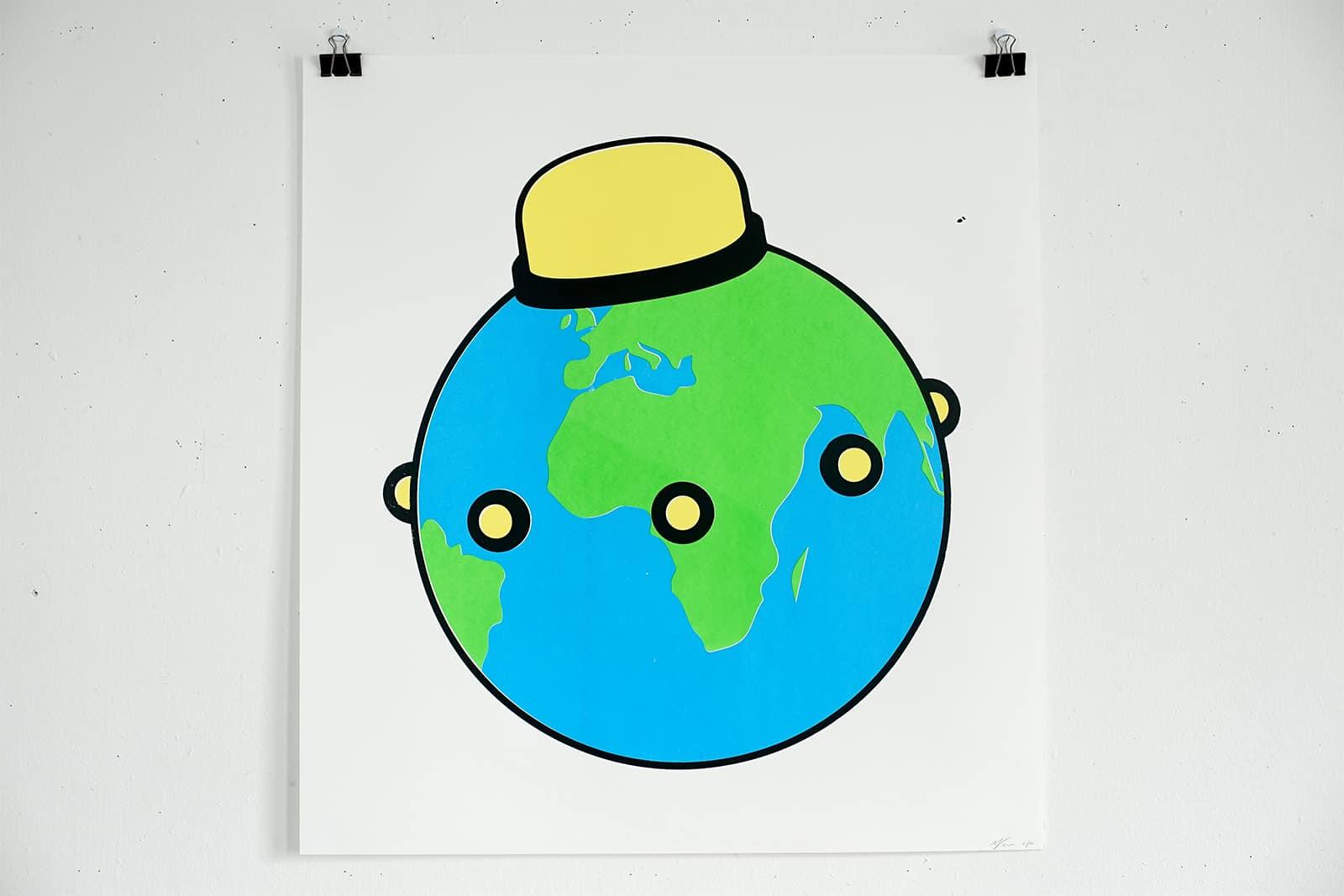 Untitled (Planet U.F.O.), 2016